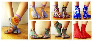 Frise chaussettes à doigts